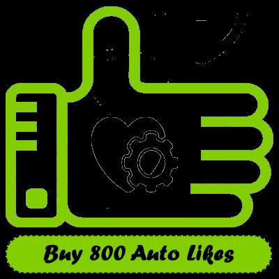 Buy 800 Auto Instagram Likes